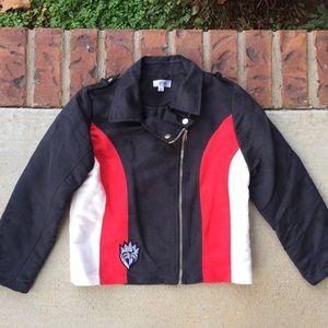 Disney D-Signed Queen of Hearts Girl's Jacket XL